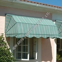 Drop Arm PVC Awning