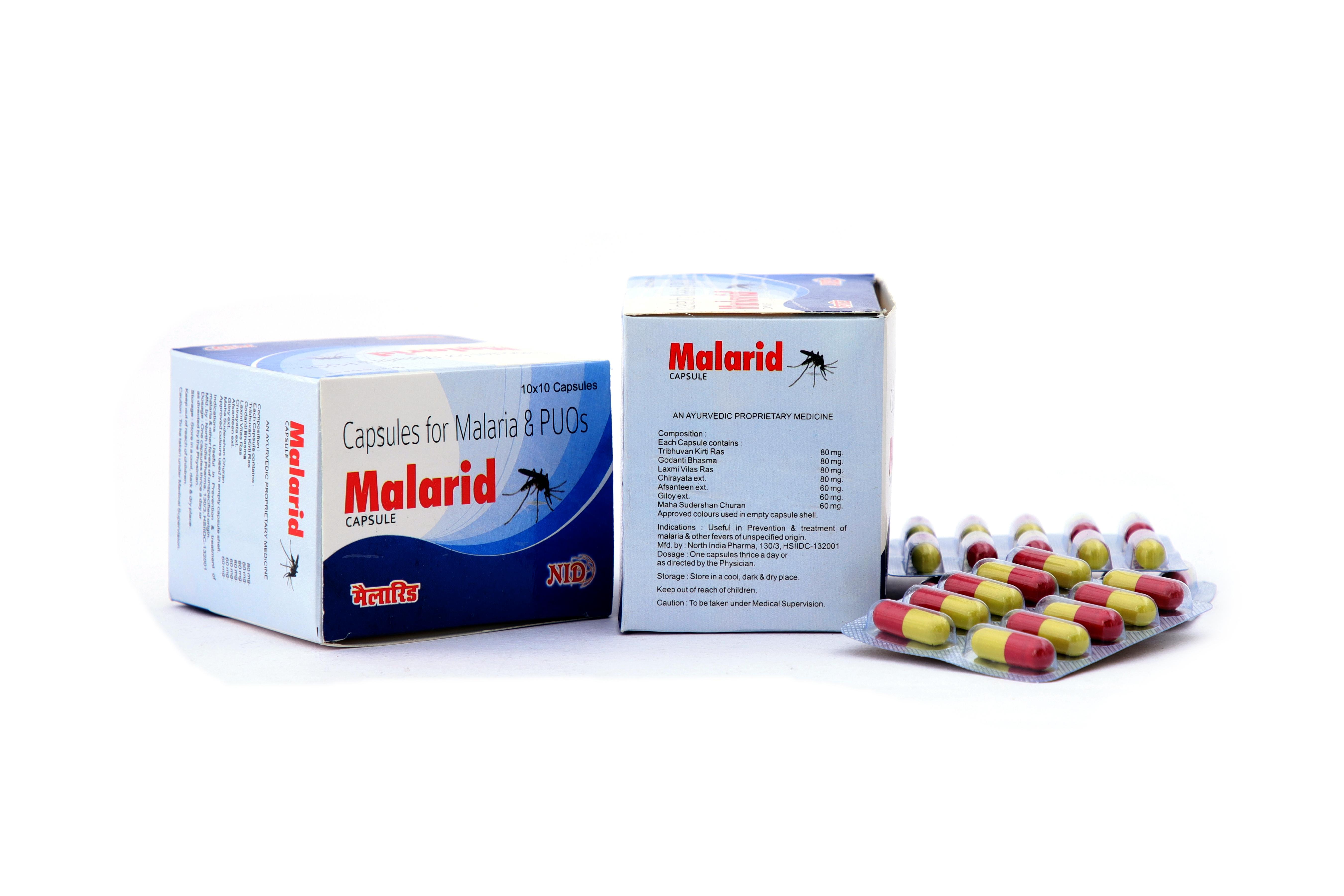 Ayurvedic Malaria Capsules