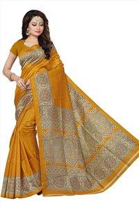 New Fancy Printed Kalamkari Sarees