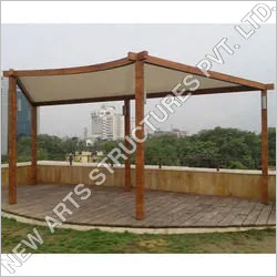 Sun Shade Tensile Shed