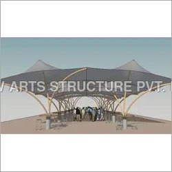 Tensile Membrane Roofing Structure