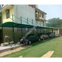 Cantilever Tensile Car Parking Shed