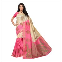 Fancy Bhagalpuri Printed Sarees