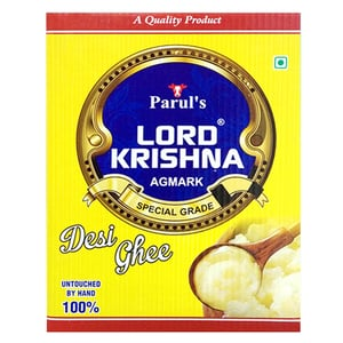 15Kg  Lordkrishna Desi Ghee Tin