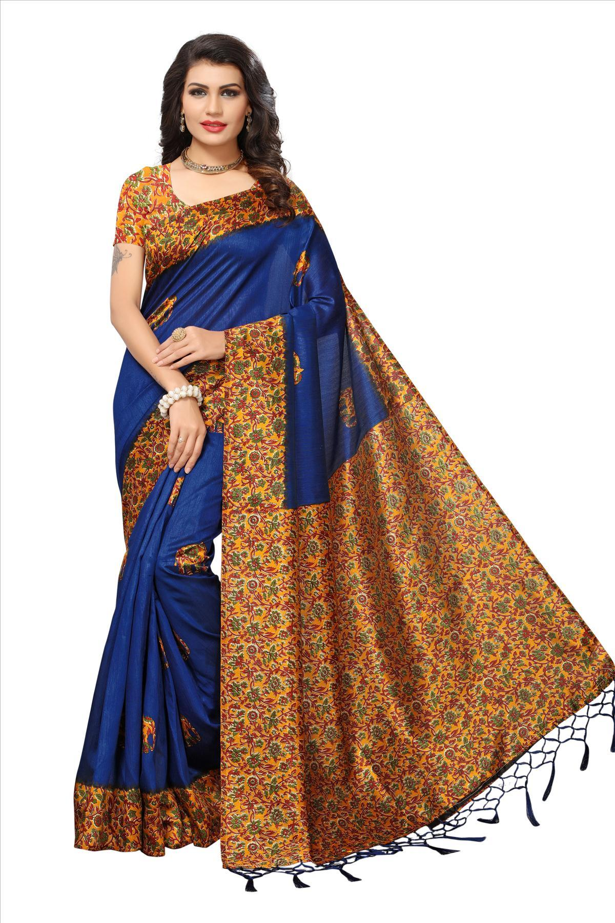 New Fancy Indian Silk Sarees