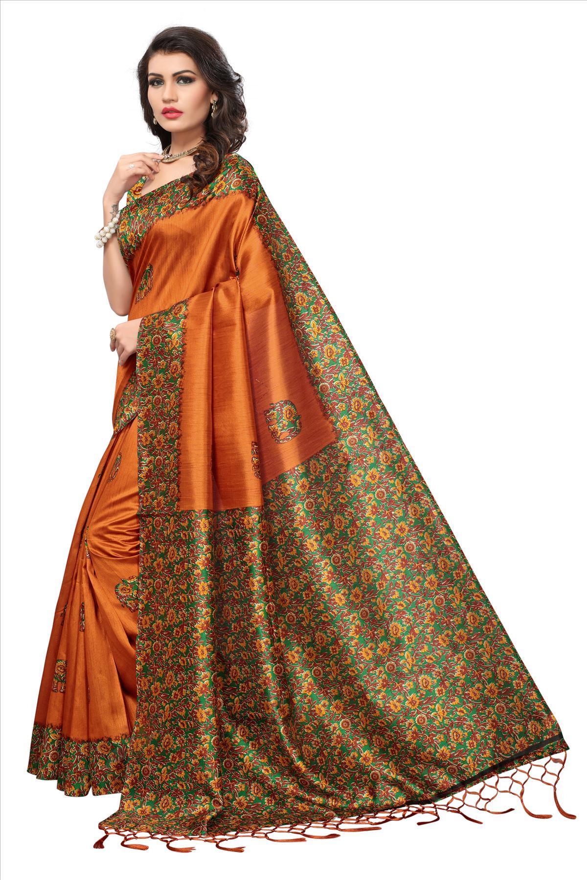 New Fancy Indian Silk Sarees