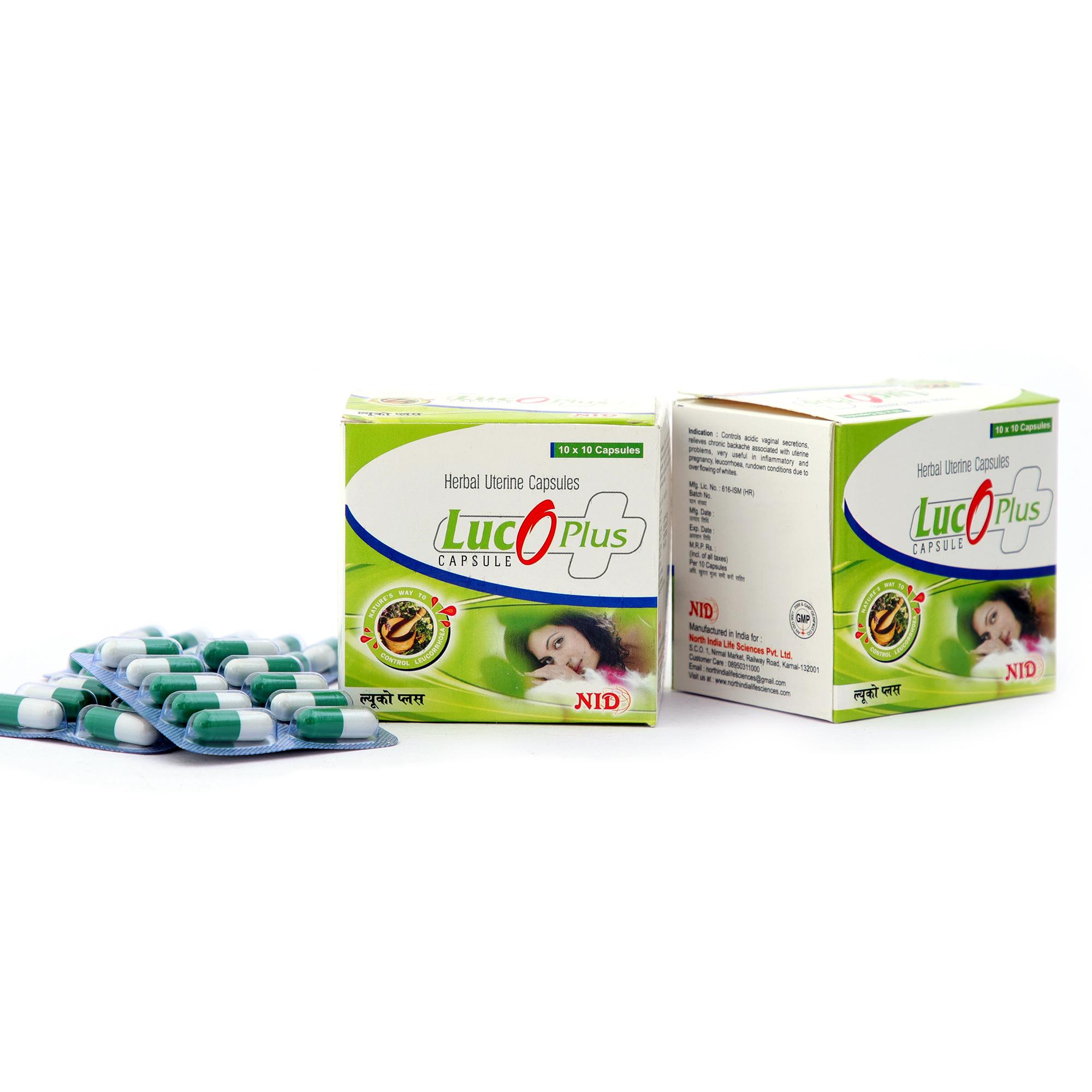 Ayurvedic Leucorrhoea Free Capsule