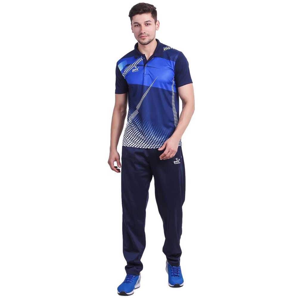 Mens Blue Sports T Shirt