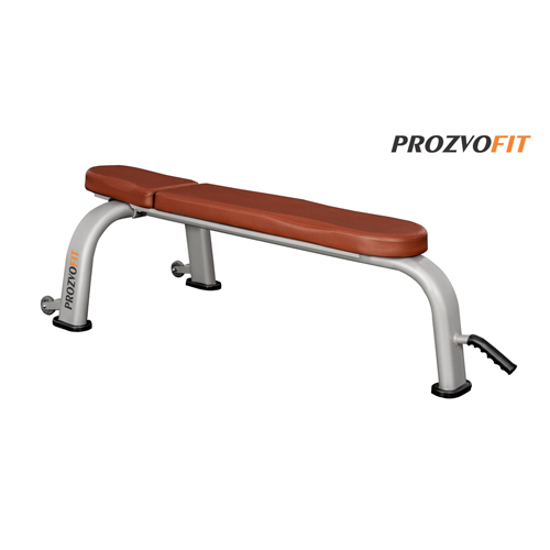 Flat Bench Silver