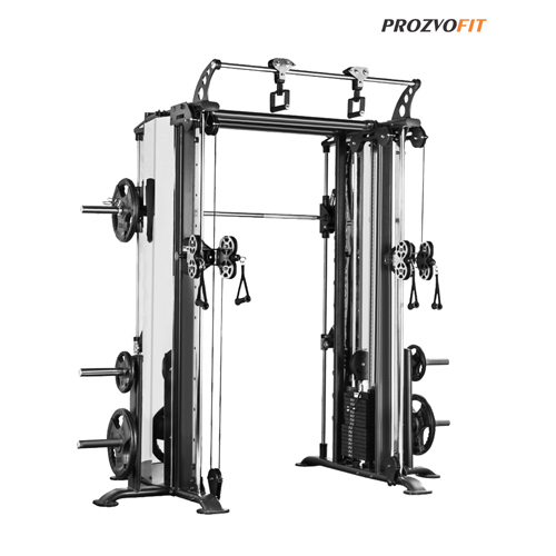 Smith With Functional Trainer