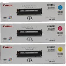 canon color toner cartridge (316)