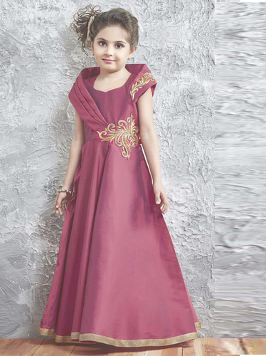 KIDS DESIGNER GOWN