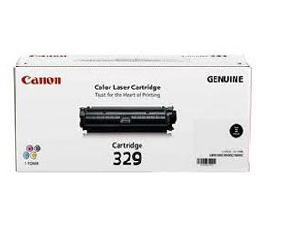 canon black toner cartridge(329)