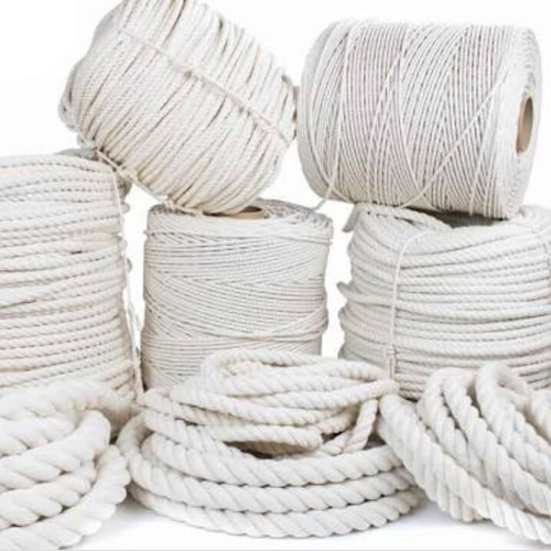White Jute Braided Rope