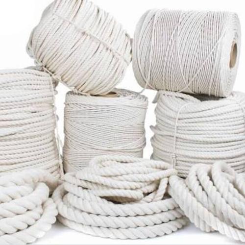 White Nylon Braided Rope
