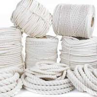 White Jute Braided Rope