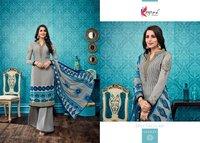 Fancy Designer Plazzo Suits