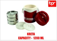 Plastic Air Tight Tiffin Box