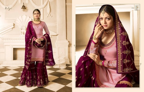 HEAVY  ANARKALI SALWAR SUITS ( LT )