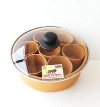 Clay Spice Box