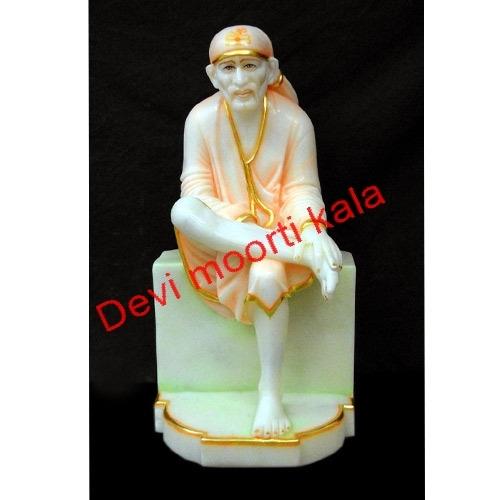 God Sai Baba Marble Moorti