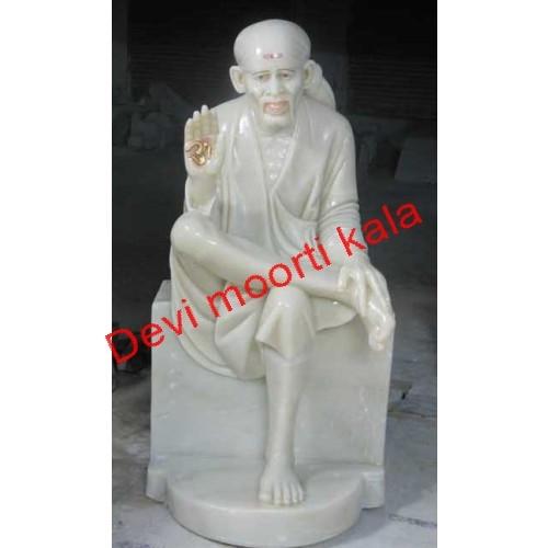 Marble Sai Moorti Aashirvaad