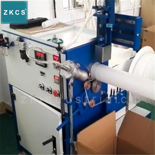 Hot Air Welding Spiraling Machine