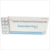 Risperidone with Trihexyphenidyl HCL Mouth Dissolving Tablets