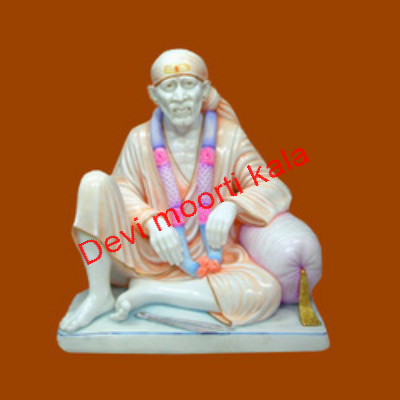Fancy Marble Sai Baba Moorti