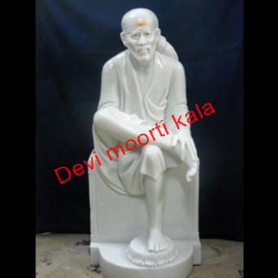 Sai Baba Marble Moorti