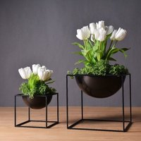 Iron Planter By Brassworld India