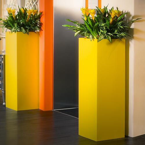 Planter / Aluminum Planter / Brass Planter