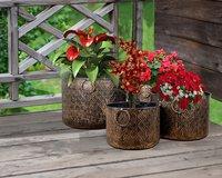Iron Planter / Brass Planter / Outdoor Planter
