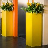 Iron Planter / Gold Finish Planter / Iron Planter