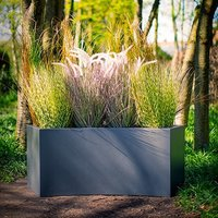 Copper Hammered Outdoor Planter