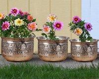 Copper Antique Planter