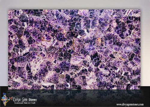 Amethyst Stone Slab