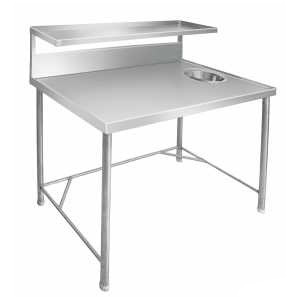 Stainless Steel Dish Landing Table