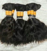 Virgin remy bulk hair
