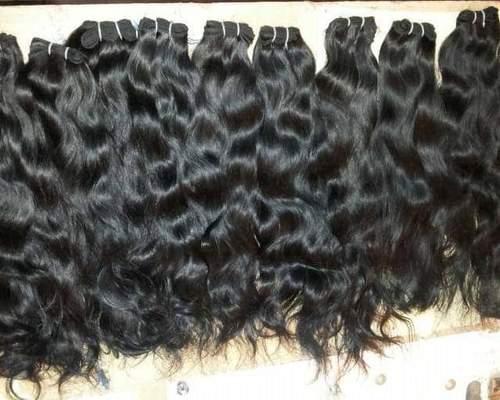 Indian Natural wavy human hair