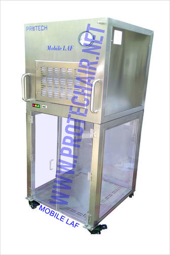 Battery Operated Mobile Laminar Air Flow( Class-100)