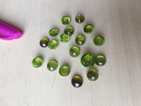 PERIDOT CABUTIONS POLISHED STONE