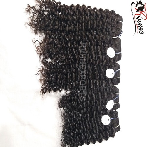 Raw Natural Indian Deep Curly Human Hair