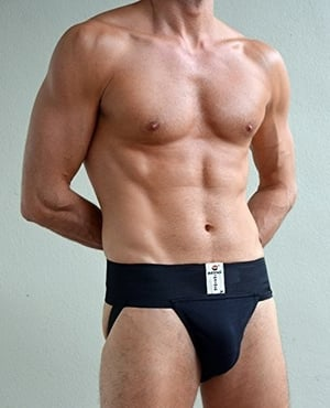 Jockstrap Gym Cotton Supporter With Cup Pocket