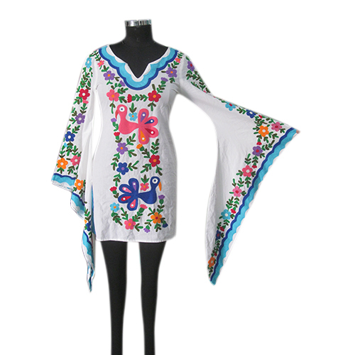 Aari Embroidery Kaftan