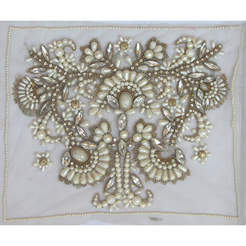 Embroidery Pearl Stone Work