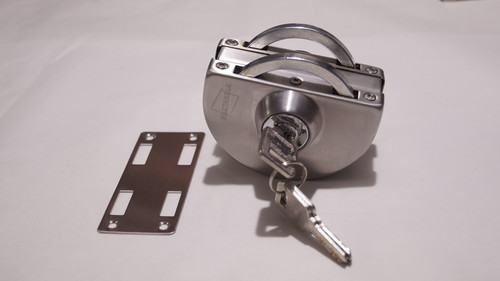 Glass door lock D type