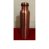 Handmade Copper Water Bottle