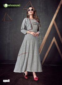 Designer Look Long Kurtis