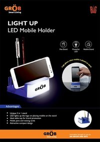 LIGHT UP Led Mobile Holder